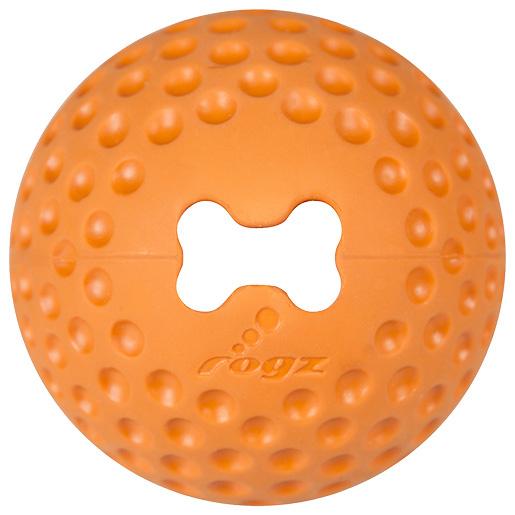 Hračka Rogz míček Gumz oranžová M