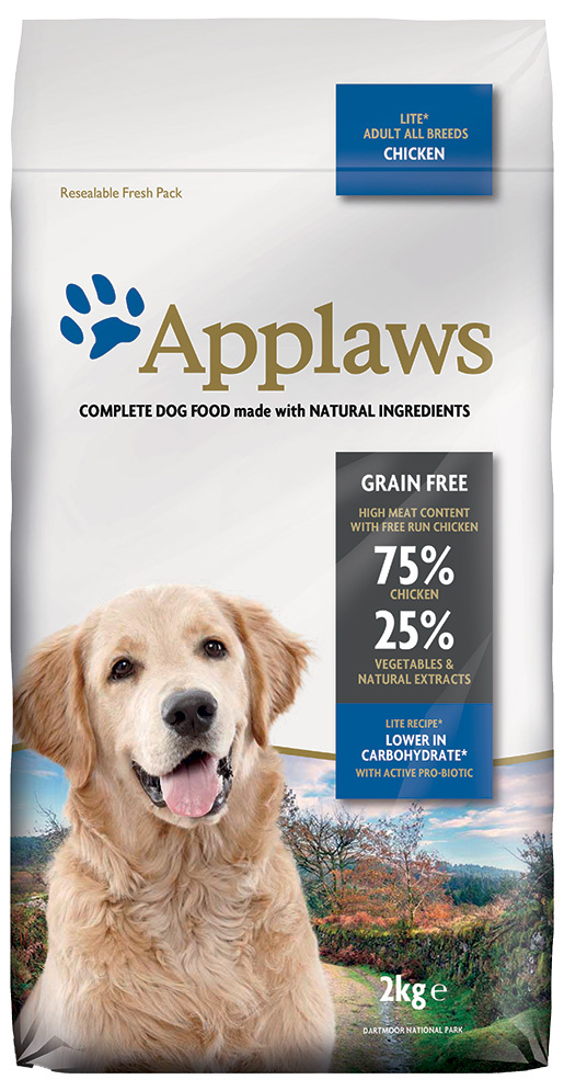 Krmivo Applaws Dry Dog Chicken Light 2kg