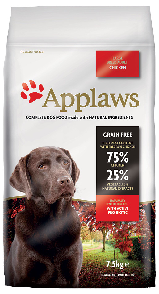 Krmivo Applaws Dry Dog Chicken Large Breed Adult 7.5kg
