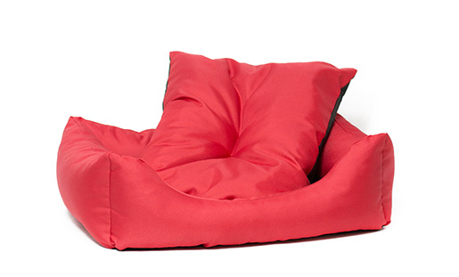 Sofa Dog Fantasy Basic červené 93cm