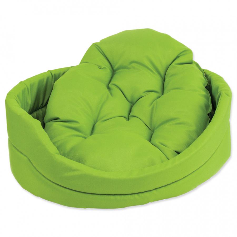 Pelech Dog Fantasy ovál s polštářem zelený 48cm