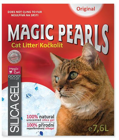 Kočkolit Magic Pearls Original 3,8l