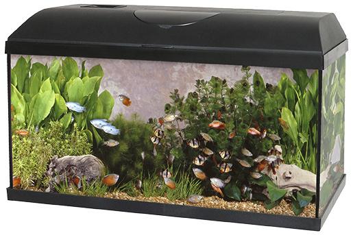 Akvárium set Pacific 60*30*30cm, žárovka 15W