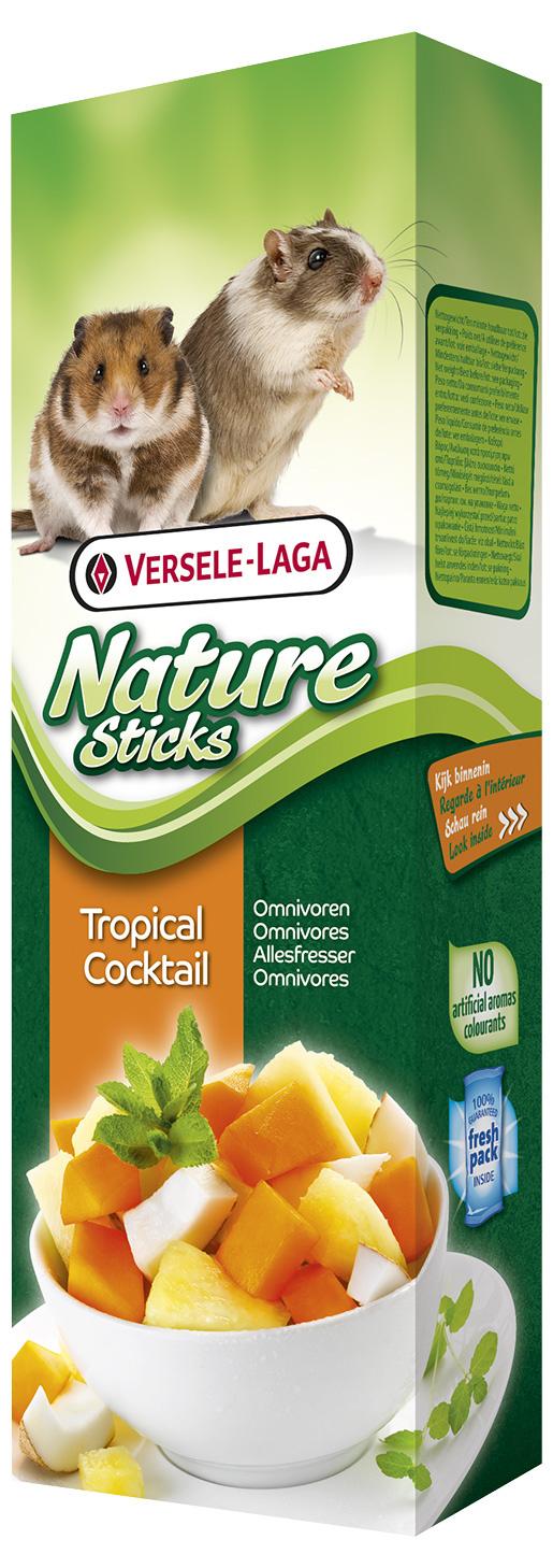 Tyčinky VERSELE-LAGA Nature tropický koktejl 90g