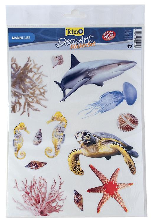 Dekorace TETRA DecoArt samolepky moře 13ks