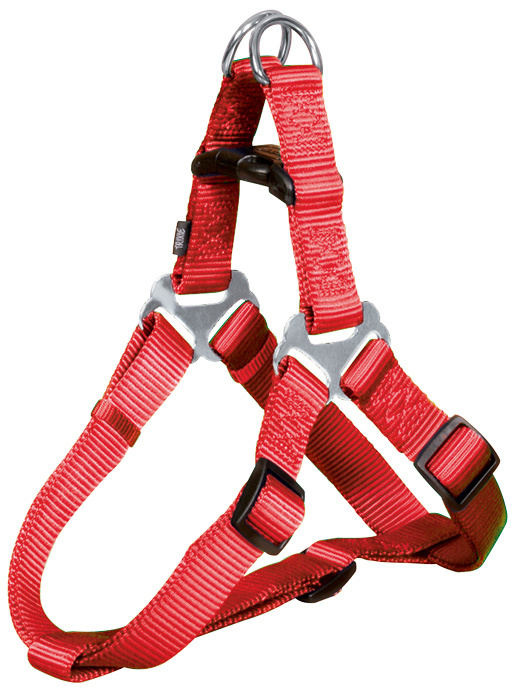 Postroj pro psy Trixie Premium S červený