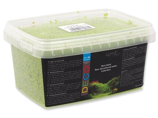 Písek Agua Excellent svítivě zelený 1kg
