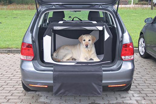Box transport pro psy Trixie Vario 91*58*61cm M-L černo-šedá