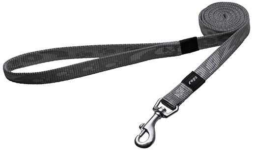 Vodítko ROGZ Alpinist přepínací stříbrné M