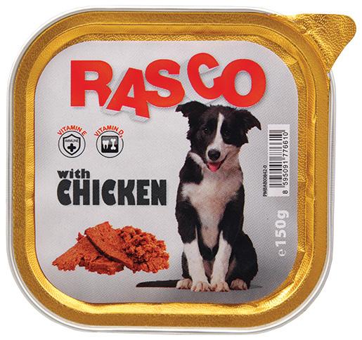 Paštika RASCO s kuřecím 150g