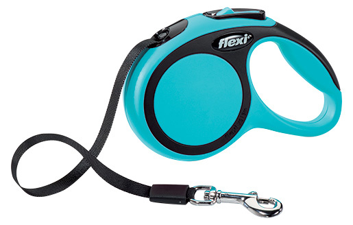 Vodítko Flexi New Comfort páska XS 3m modré