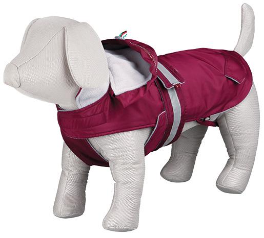 Bunda pro psy Trixie Iseo coat bordeaux S 33cm