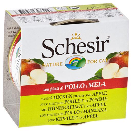 Konzerva SCHESIR Fruit kuřecí+jablko 140g