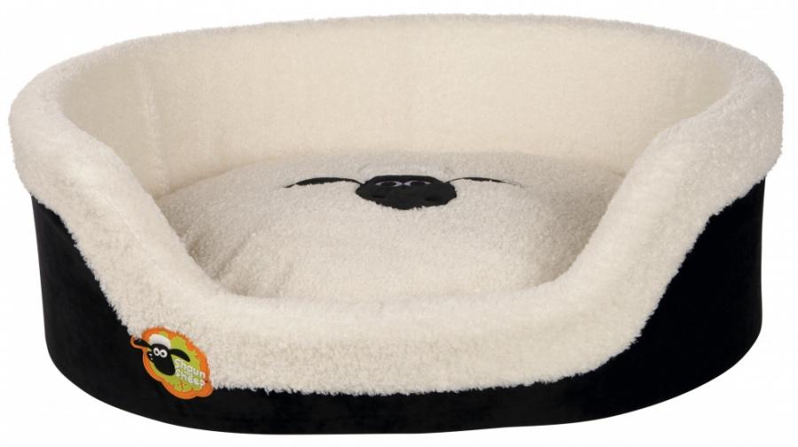 Pelech pro psy Ovečka Shaun black/cream 85 × 65 cm