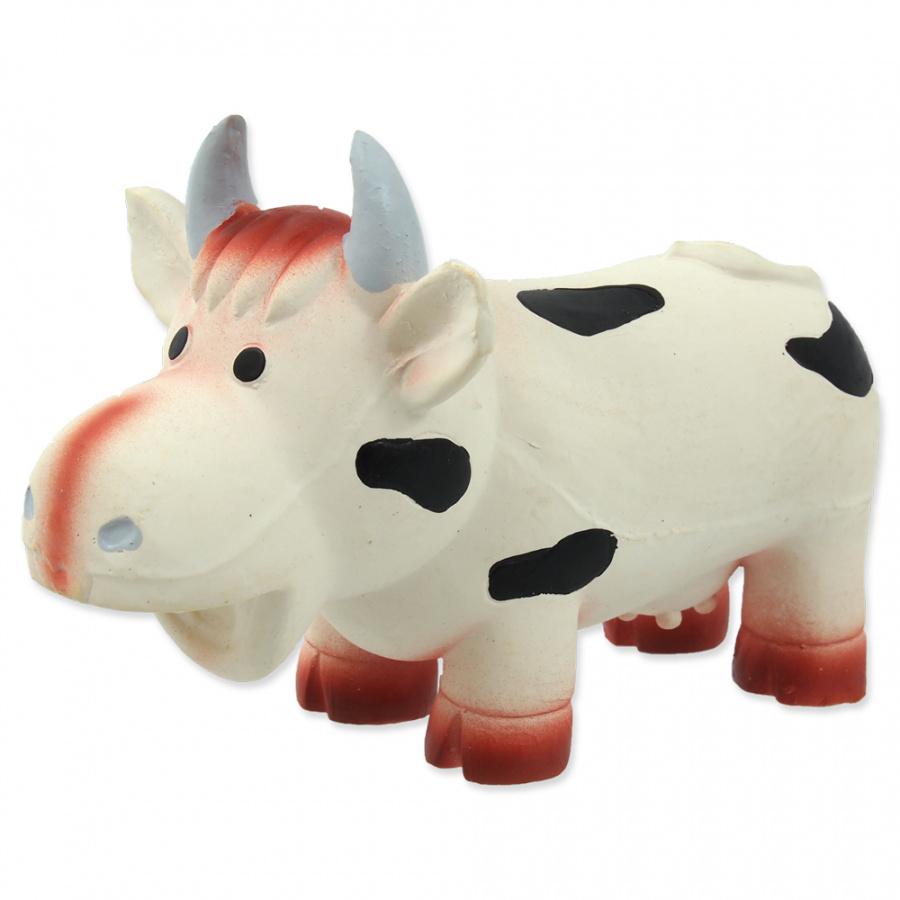 Hračka Dog Fantasy Latex Kráva se zvukem 18cm