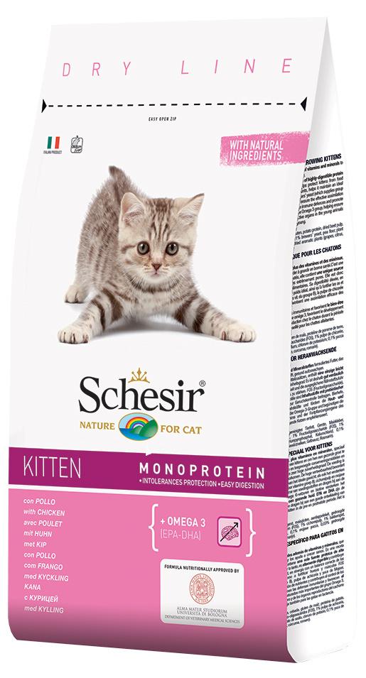 Krmivo SCHESIR Kitten 10kg