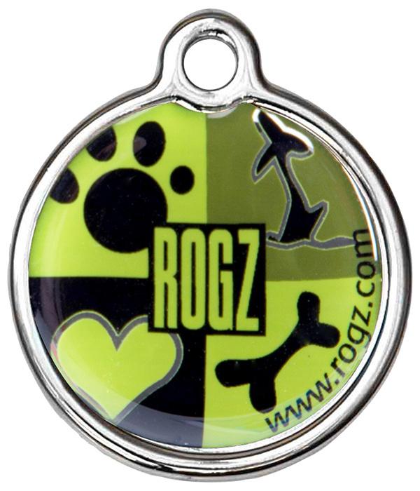 Známka ROGZ Metal Lime Juice kovová S