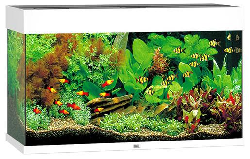 Akvárium set JUWEL Rio LED 125 bílé