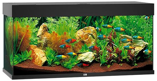 Akvárium set Juwel Rio LED 180 černé