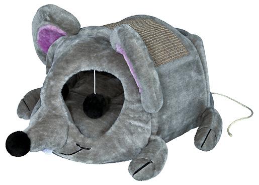 Pelíšek Trixie Lukas cuddly cave 35×33×65cm šedá