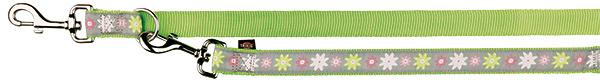 Vodítko Trixie Modern Art Blooms L–XL zelené