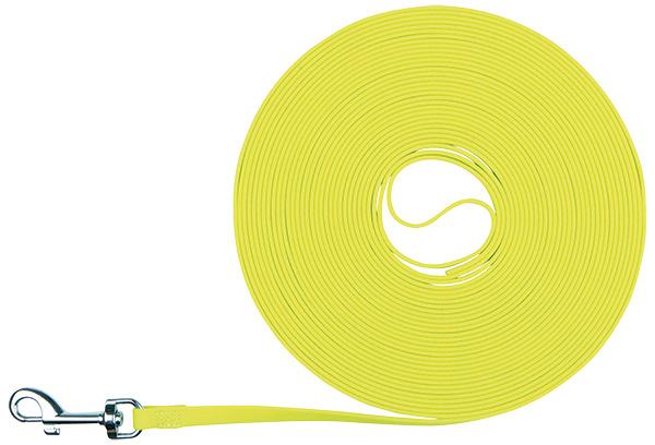 Vodítko stopovací Trixie Easy Life neon žluté