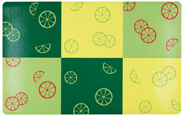 Podložka pod misku Fresh Fruits zelená