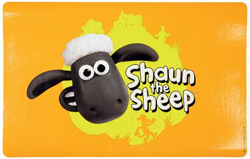 Podložka pod misku Trixie Shaun the Sheep oranžová