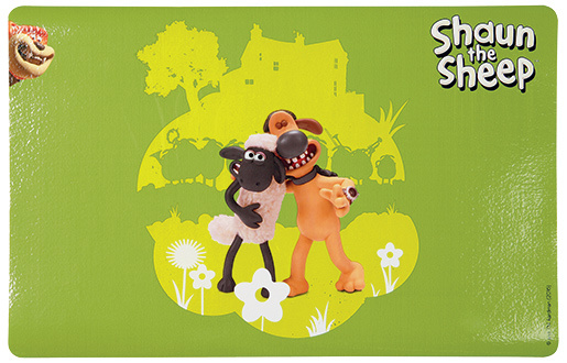 Podložka pod misku Trixie Shaun the Sheep  Bitzer zelená