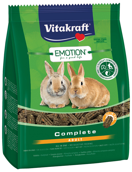 Vitakraft Emotion complete králík adult 1,5kg