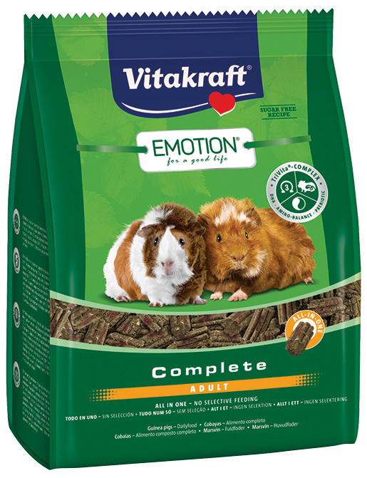 Vitakraft Emotion complete morče adult 1,5kg