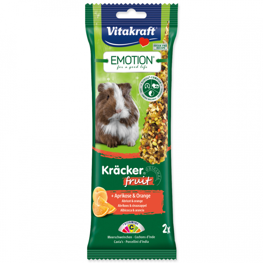 Vitakraft Emotion kracker morče ovocný 2ks