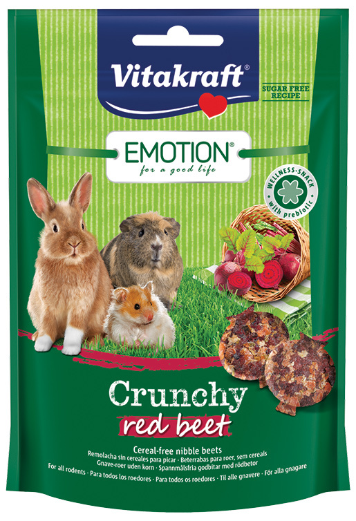 Vitakraft Emotion crunchy řepa 100g