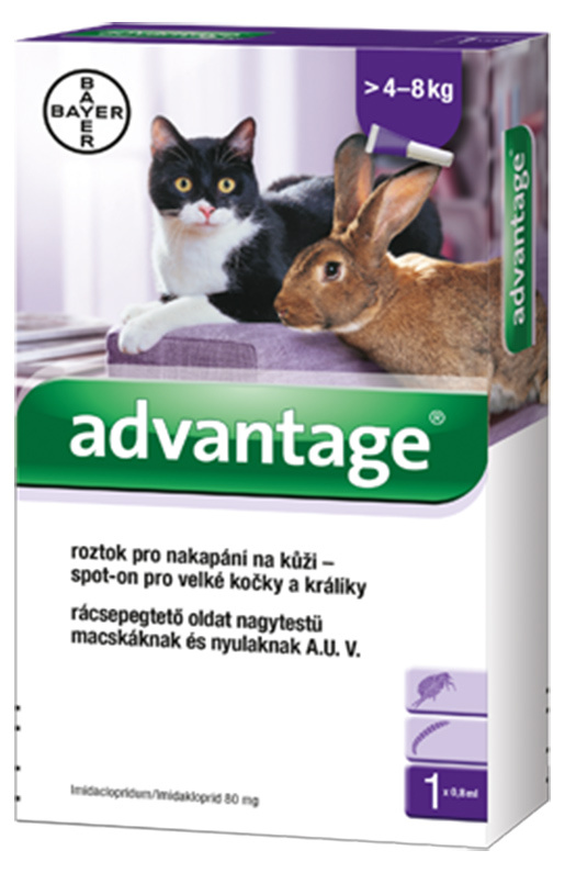 Advantage 80mg spot-on 1x 0,8ml !