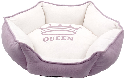 Pelech Dog Fantasy QUEEN Hexagon 45x45x16cm lila