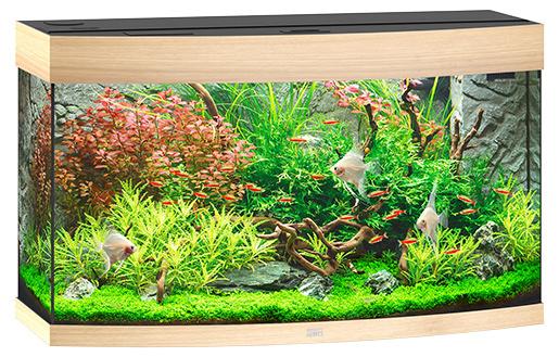 Akvárium set Vision LED 180 92x55x41cm sv.hnědé 180l