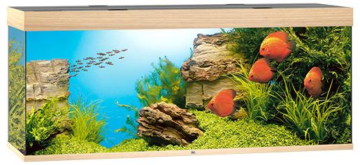 Akvárium set Rio LED 450 dub 151*51*66cm, 450l