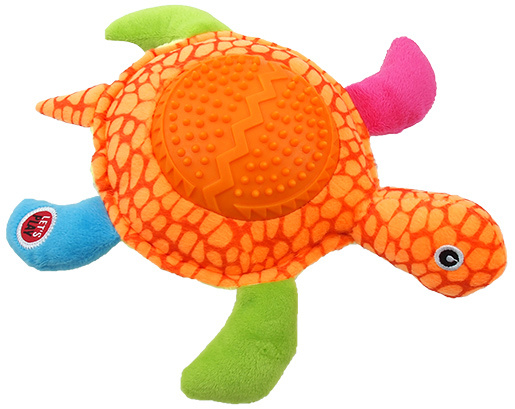 Hračka Let´s Play želva oranžová 22cm