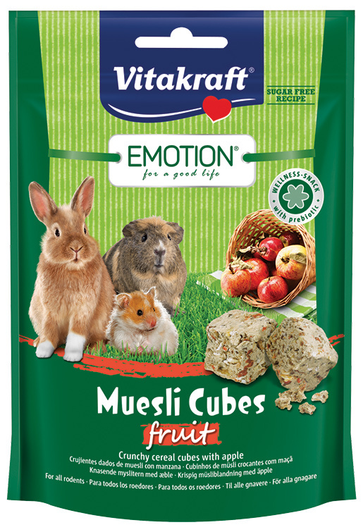 Vitakraft Emotion muesli kostky ovoce  80g