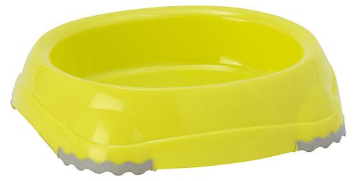 Miska Magic Cat plast s protiskluzem 210ml žlutá