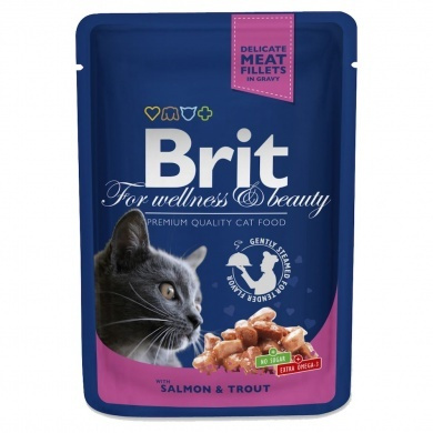 BRIT Premium Cat Salmon 100g