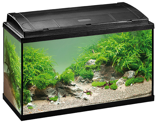 Akvárium set EHEIM Aquapro 2*18W T5 černý 126l, 80*45*35cm