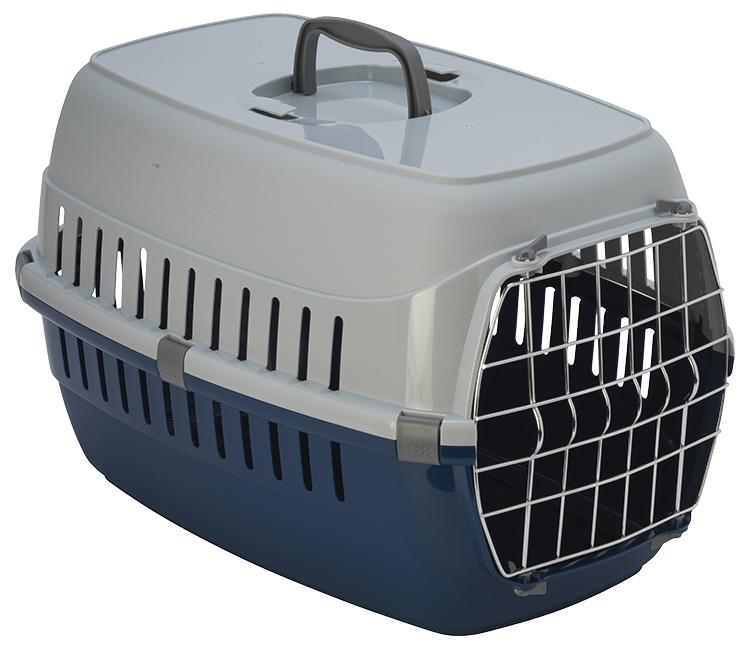 Přepravka Dog Fantasy Carrier 58*35*37cm modrá
