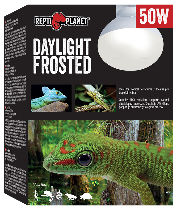 Repti Planet žárovka Daylight Frosted 50W