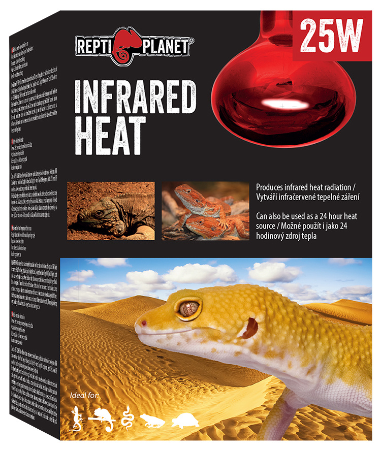 Repti Planet žárovka Infrared HEAT 25W