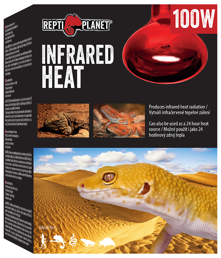 Repti Planet žárovka Infrared HEAT 100W