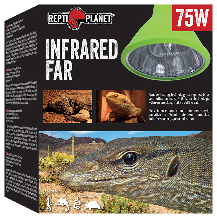 Repti Planet žárovka Far Infrared HEAT Projector 75W