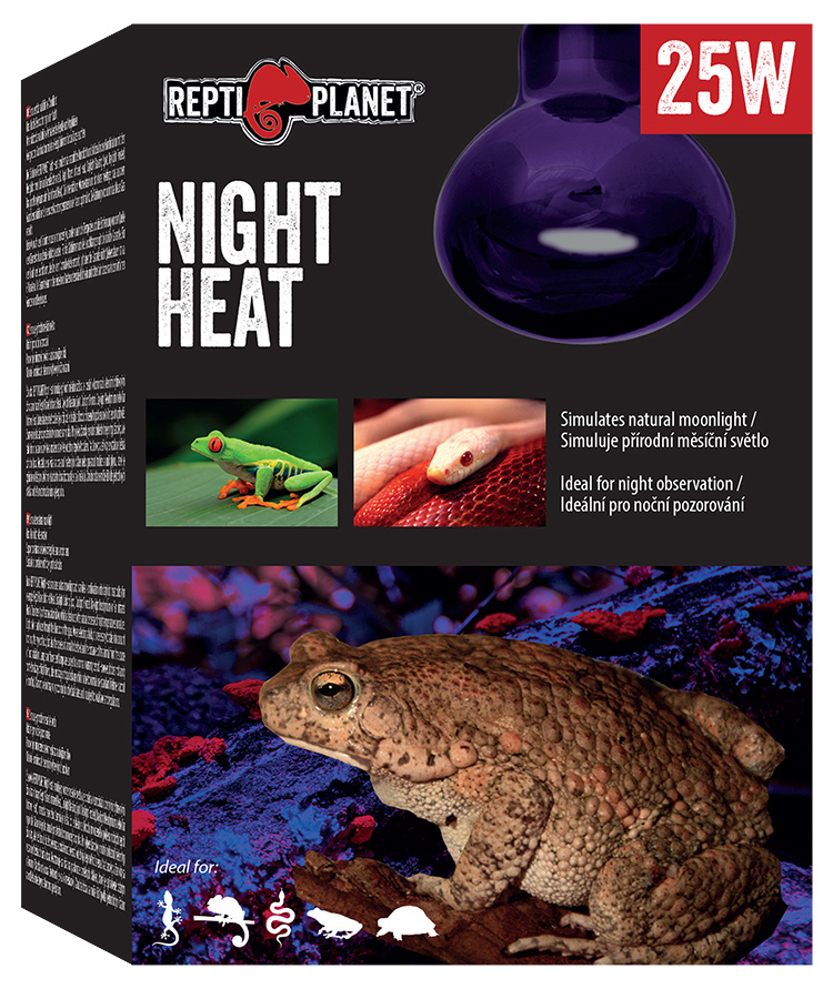 Repti Planet žárovka Moonlight HEAT 25W