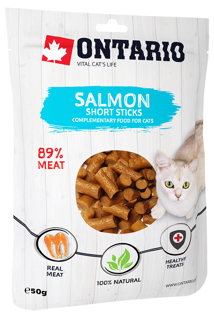 Ontario Salmon Short Sticks 50g