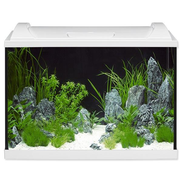Akvárium set EHEIM Aquapro LED bílý 84l, 60*40*35cm